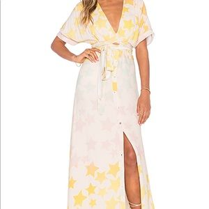 Mara hoffman star maxi dress
